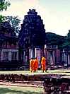 Monks at Phimai.